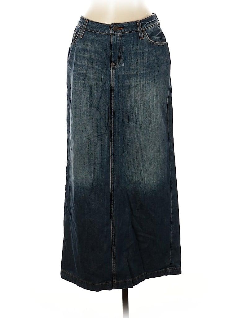 Hint Jeans Women Denim Skirt Size 11