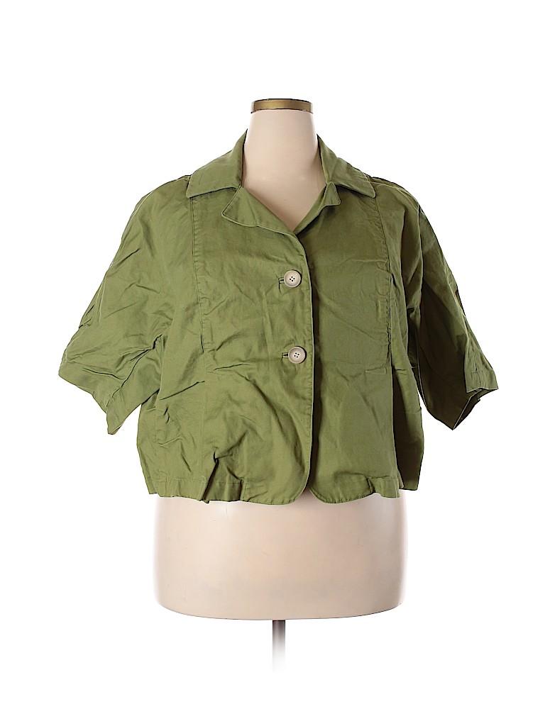 Talbots Women Jacket Size 18 (Plus)