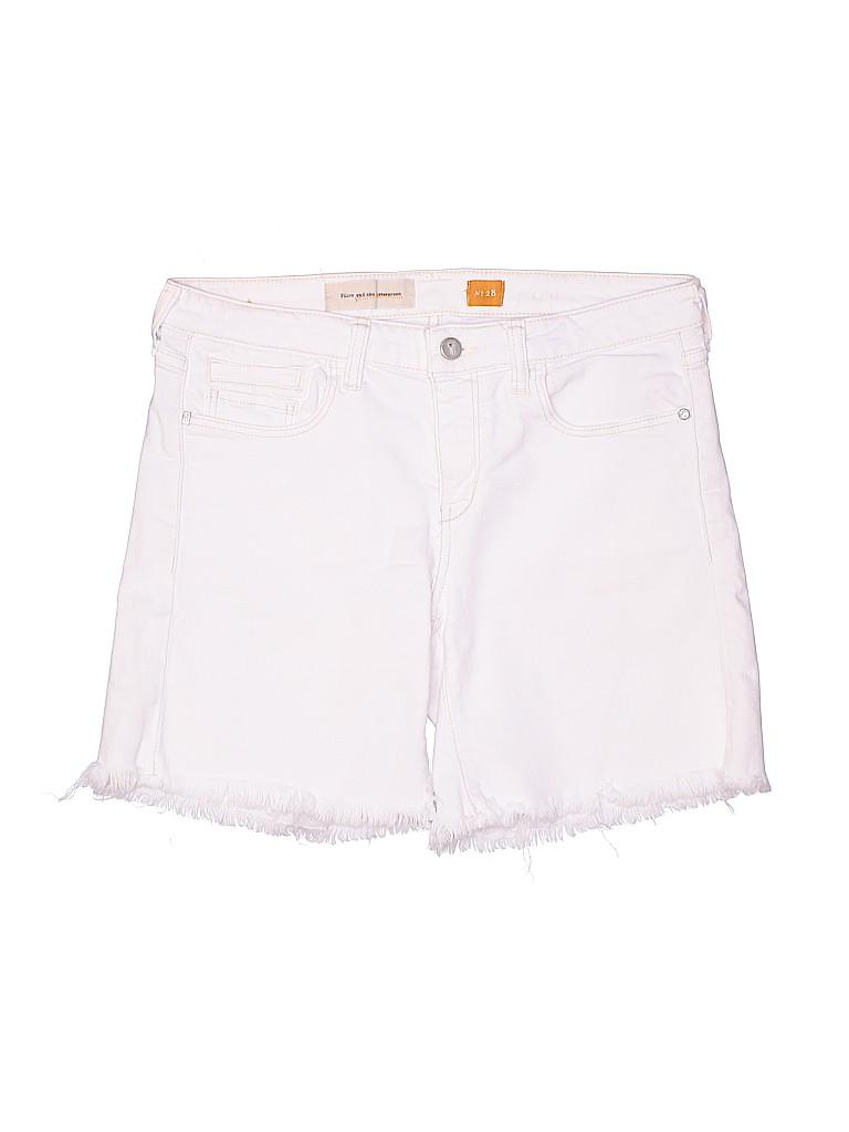 Pilcro and The Letterpress Women Denim Shorts Size 28 (Plus)