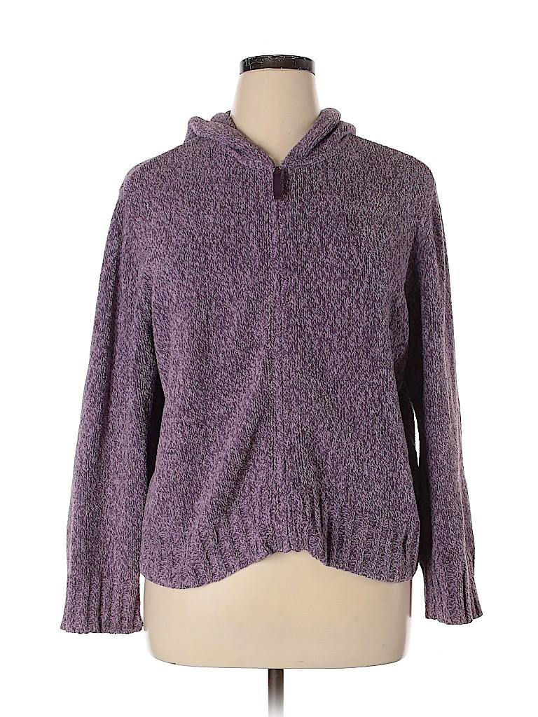 J.jill Women Zip Up Hoodie Size XL