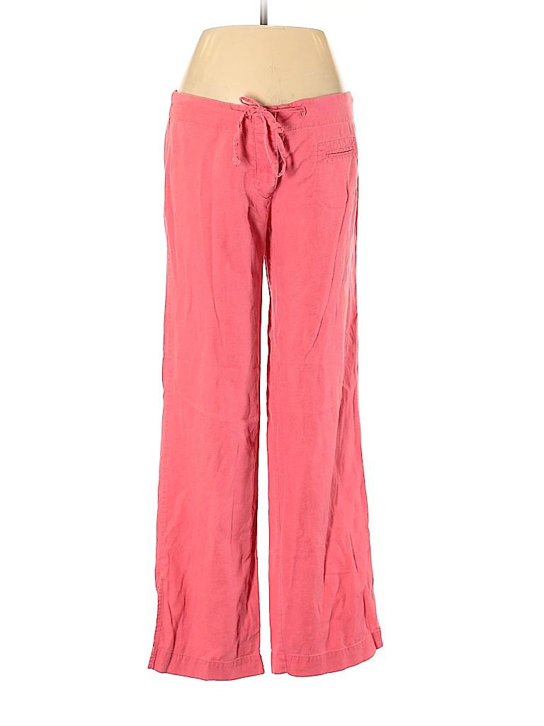 TAXI Women Linen Pants Size M