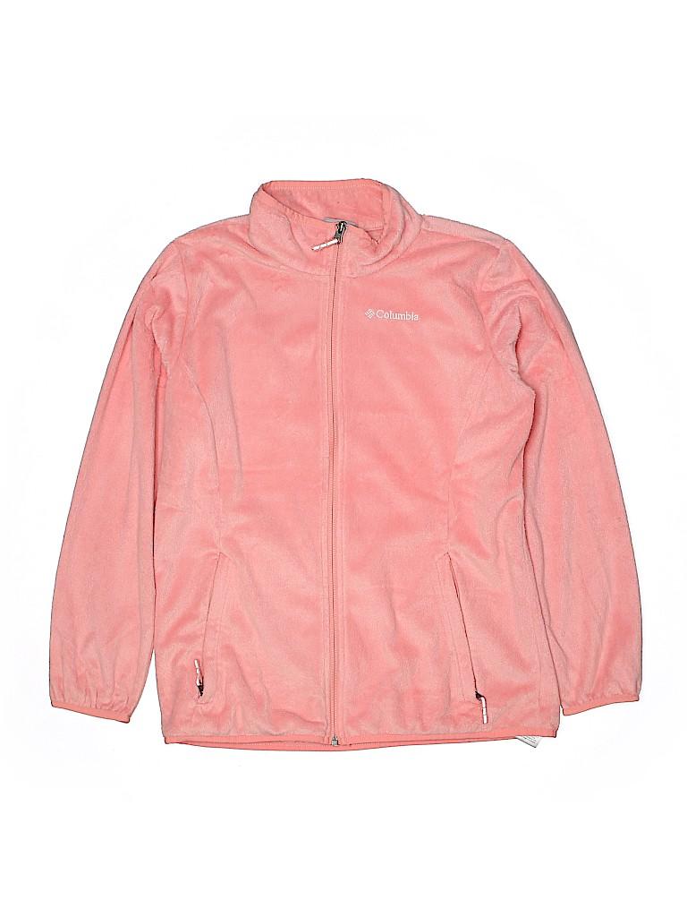 Columbia Girls Fleece Jacket Size 18 - 20