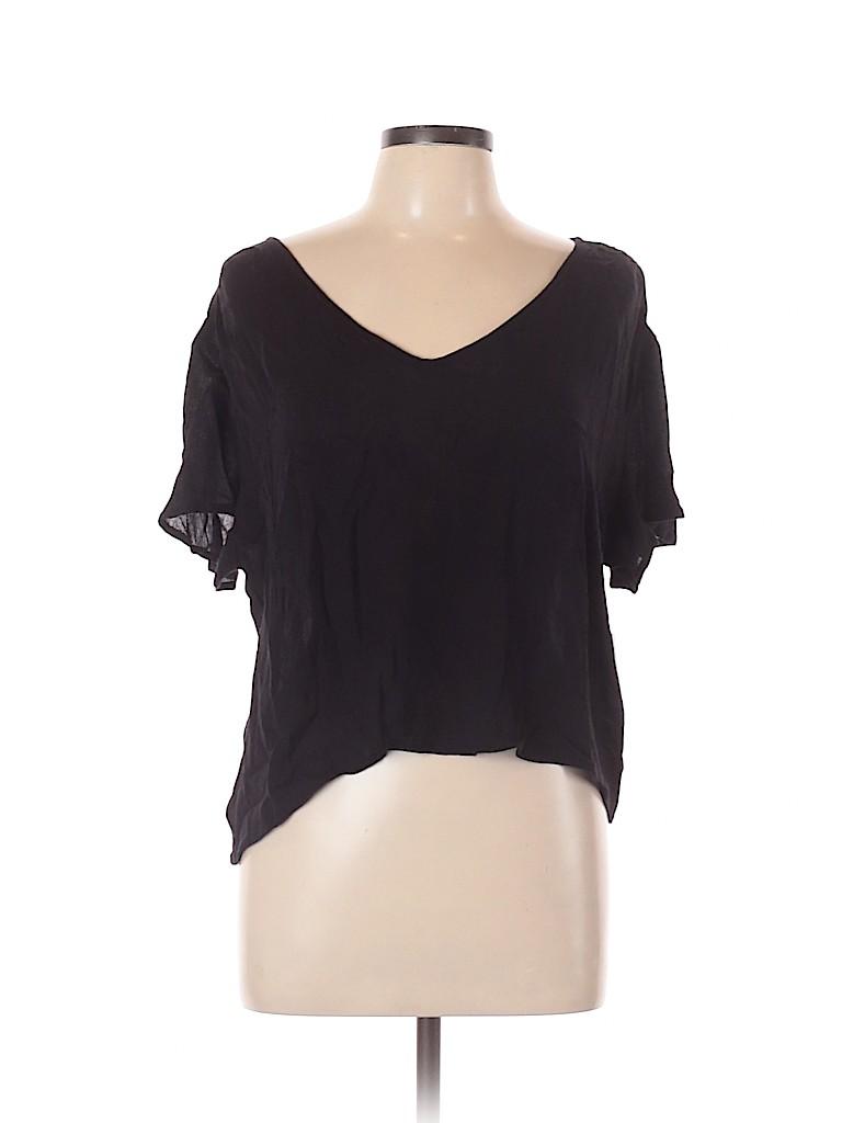 Arizona Jean Company Women Short Sleeve Blouse Size XXL