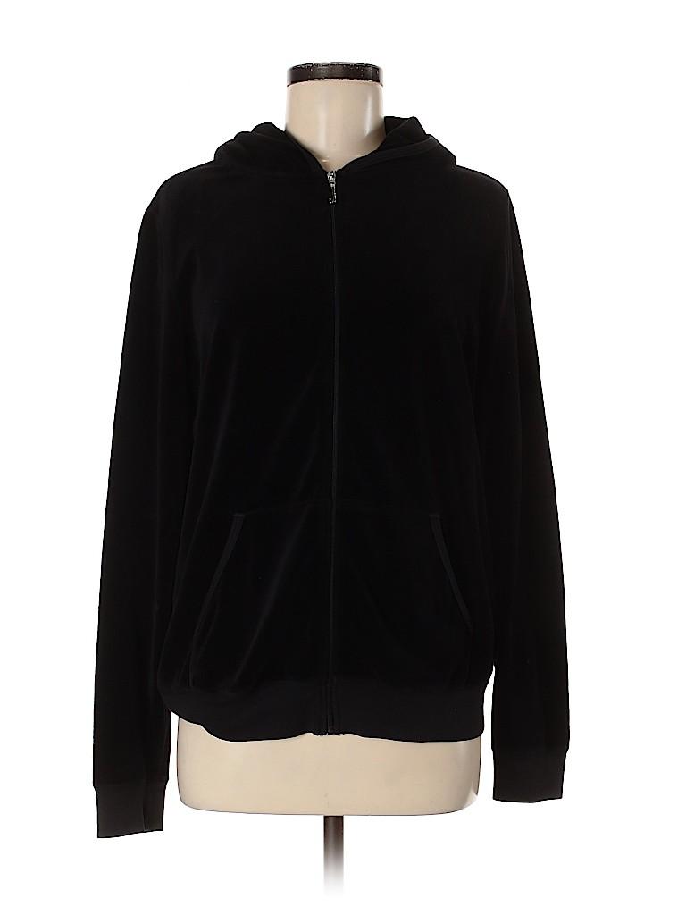 Juicy Couture Women Zip Up Hoodie Size 0X (Plus)