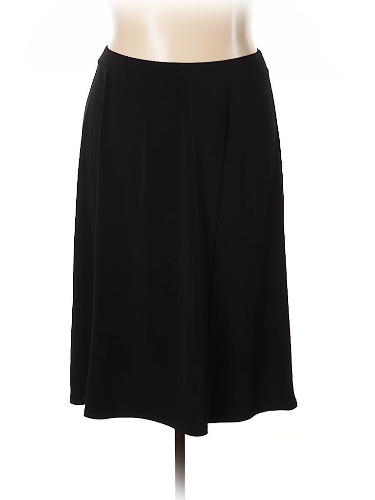 Fashion Bug Women Casual Skirt Size 1X (Plus)