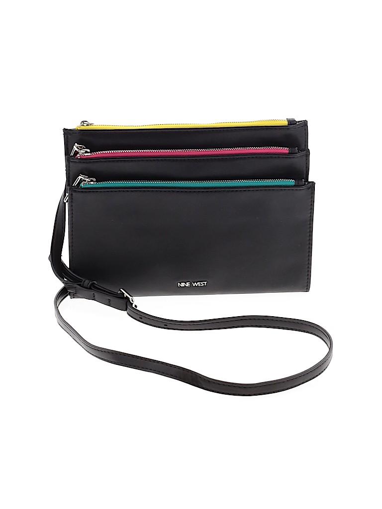 Nine West Women Leather Crossbody Bag One Size