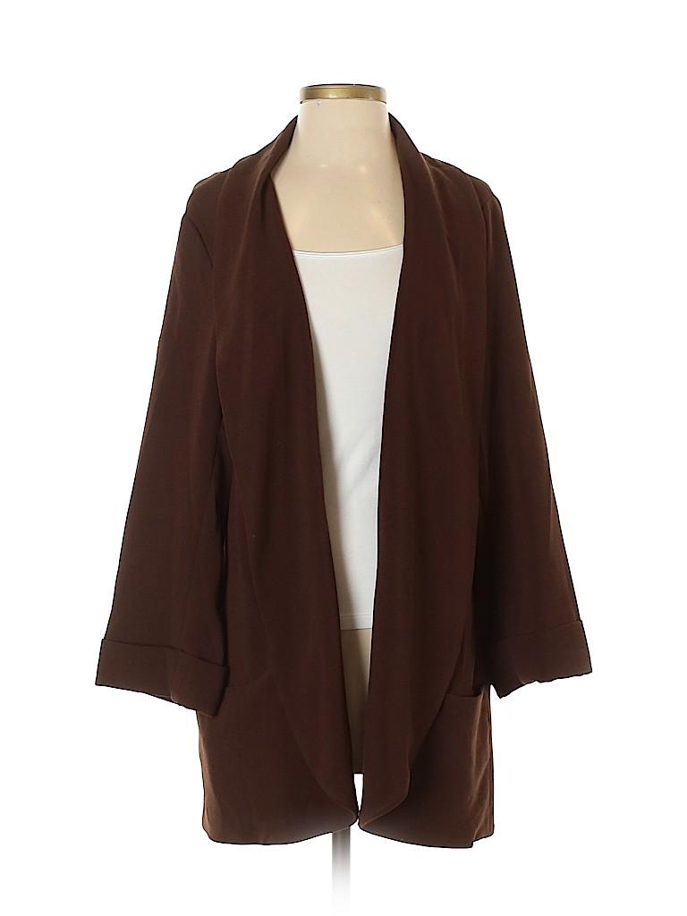 Daniel Rainn Women Cardigan Size XL