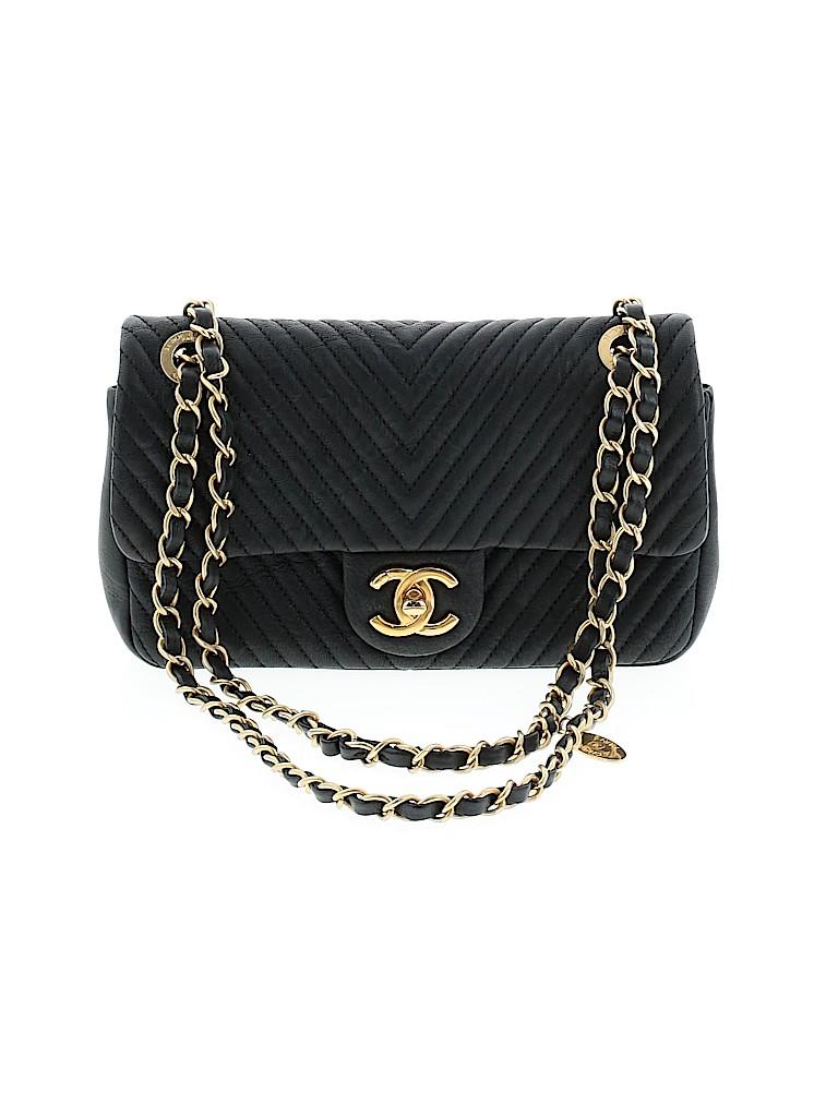 Chanel Women Leather Shoulder Bag One Size