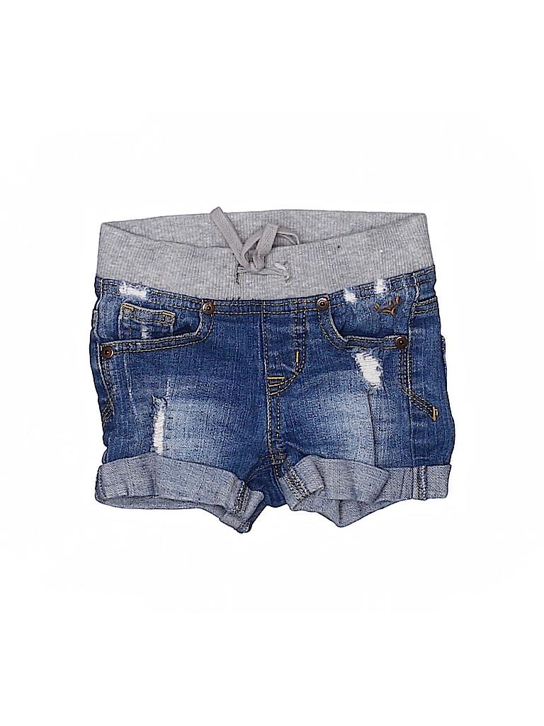 Justice Girls Denim Shorts Size 5