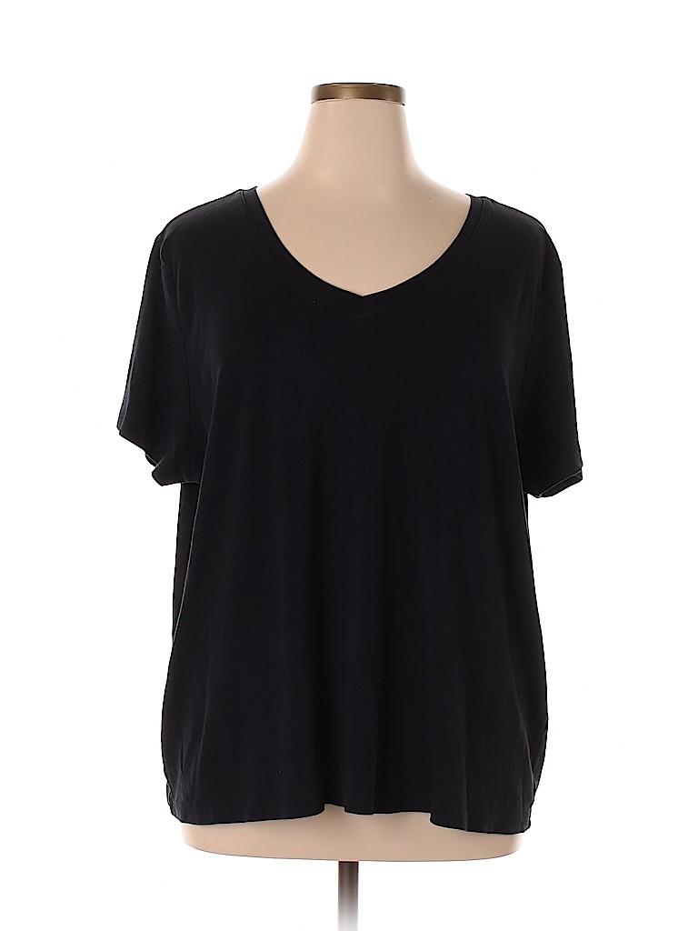 Venezia Women Short Sleeve T-Shirt Size 28 - 26 (Plus)