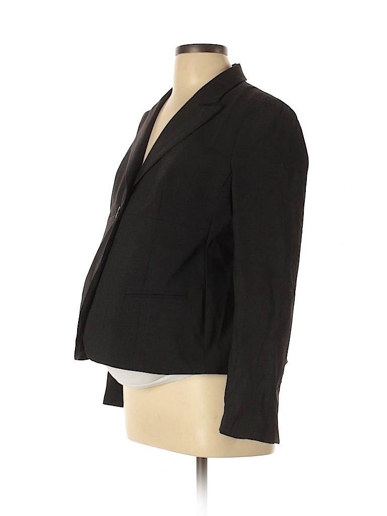 A Pea in the Pod Women Wool Blazer Size M (Maternity)