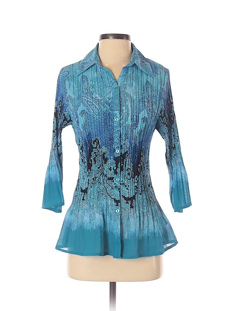Fashion Bug Women 3/4 Sleeve Blouse Size S