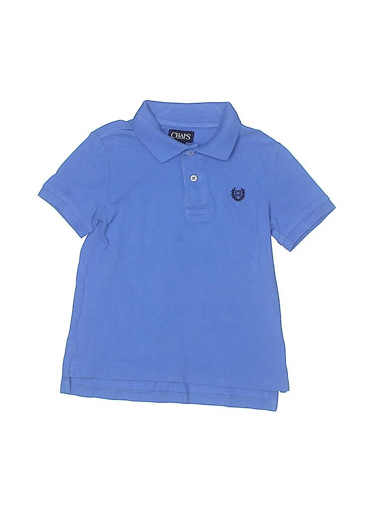 Chaps Boys Short Sleeve Polo Size 5