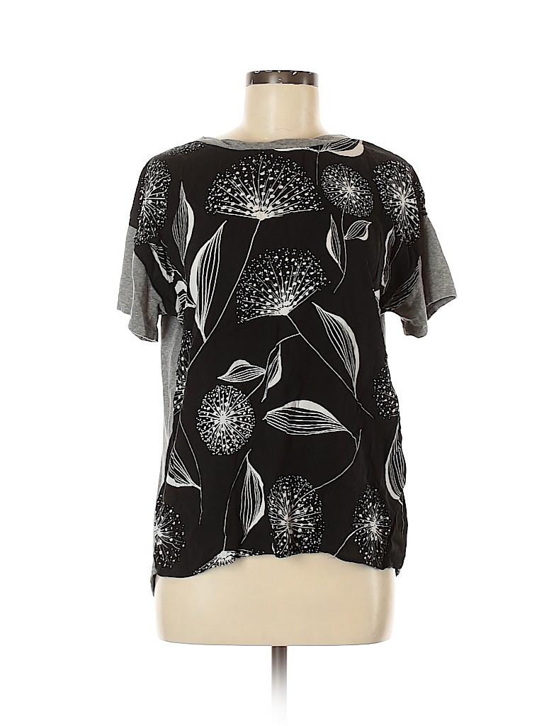T.la Women Short Sleeve Blouse Size M