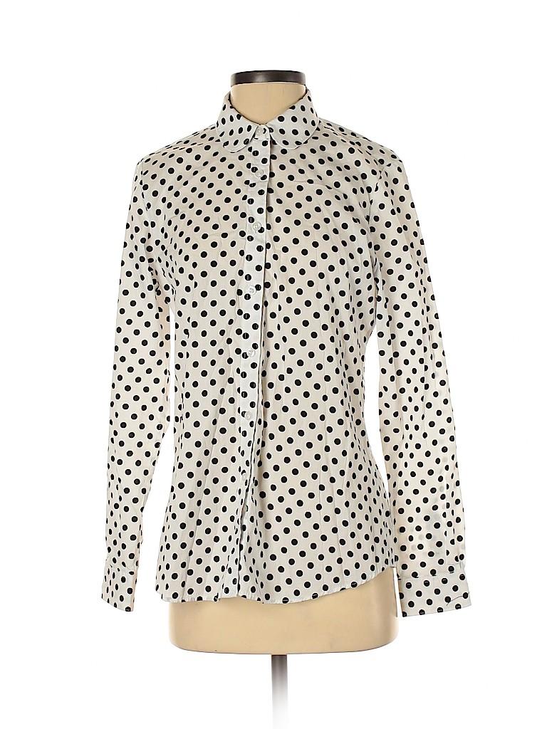 Assorted Brands Women Long Sleeve Button-Down Shirt Size S