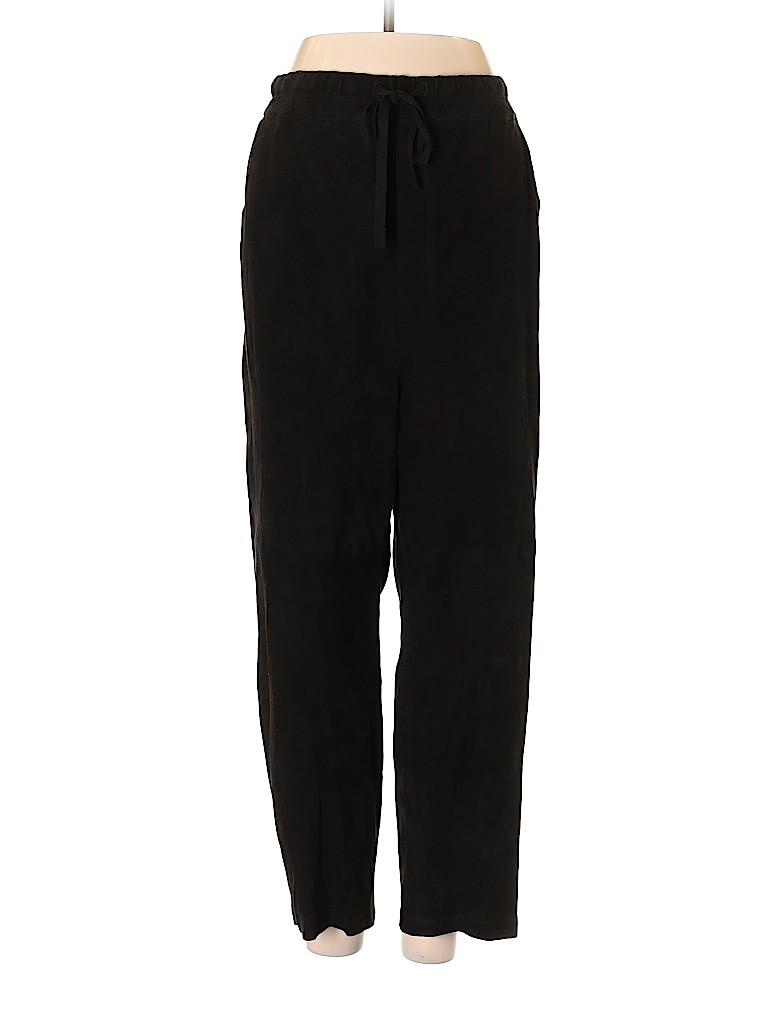 Vince. Women Leather Pants Size L