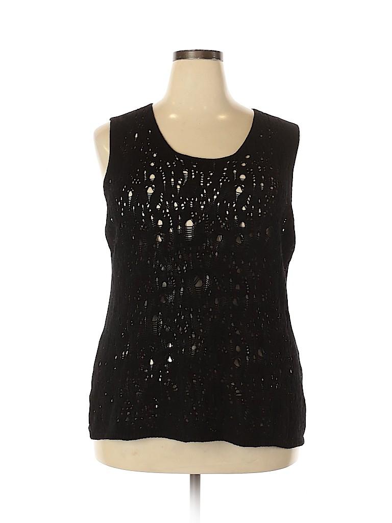 Marina Rinaldi Women Pullover Sweater Size 24 (XXL) (Plus)