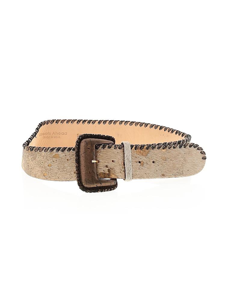 Streets Ahead Women Leather Belt Size M