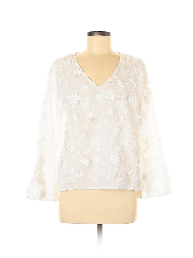 Karen Kane Women Long Sleeve Blouse Size M