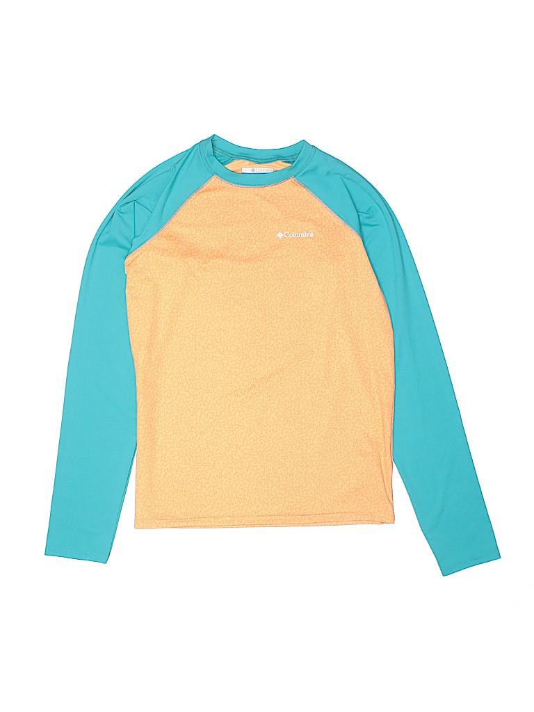 Columbia Girls Active T-Shirt Size 14 - 16