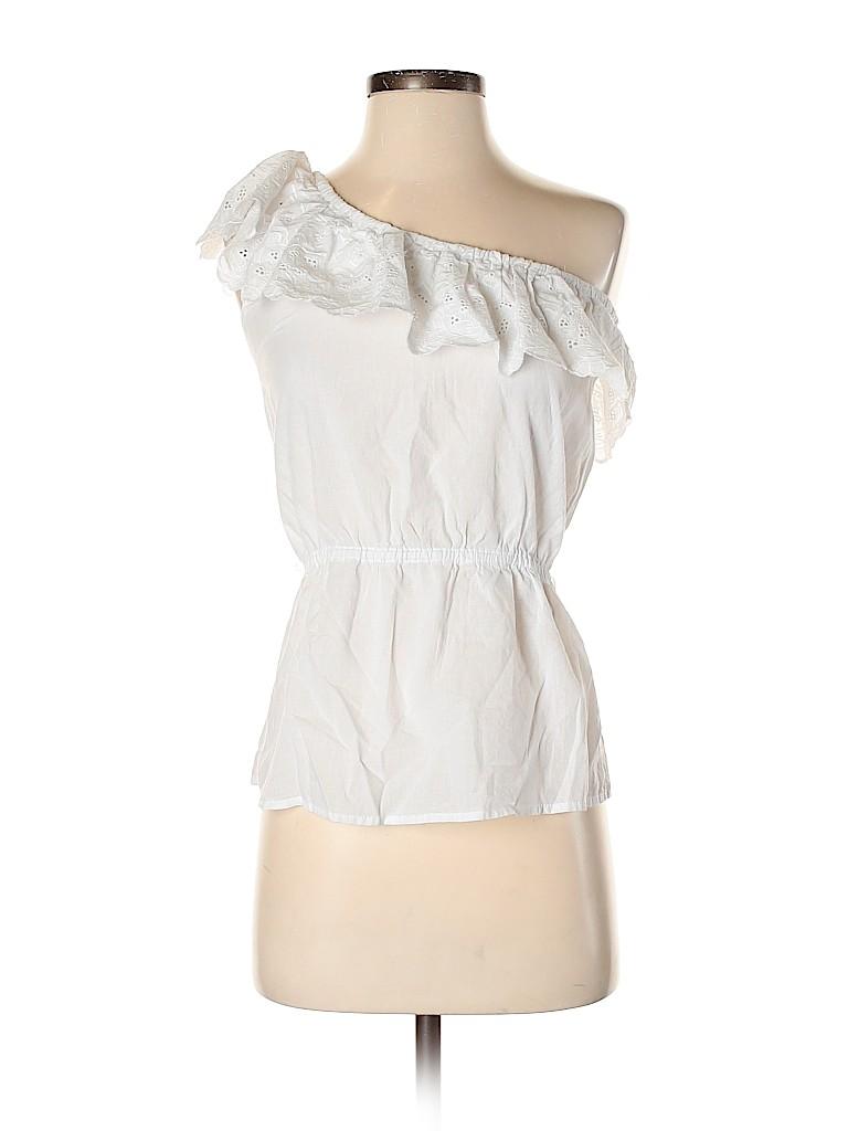 Poof! Women Short Sleeve Blouse Size S
