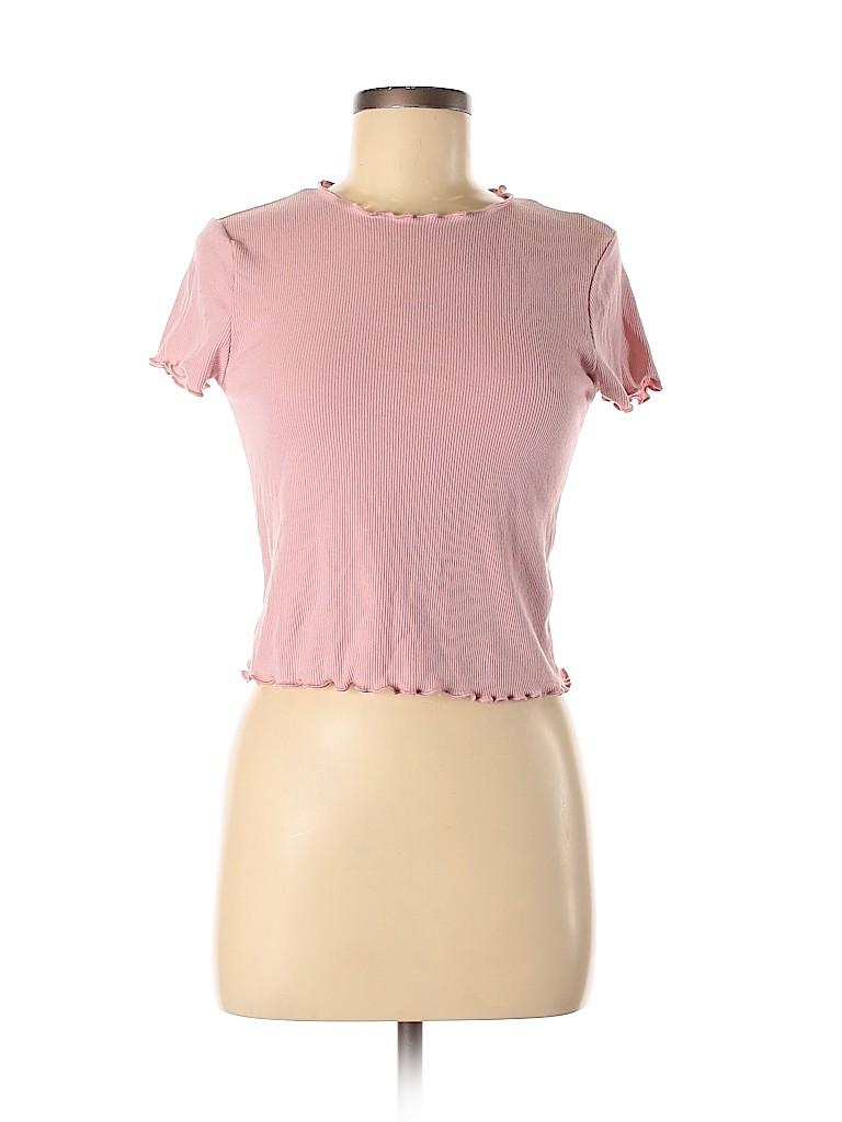Heart Hips Women Short Sleeve T-Shirt Size M