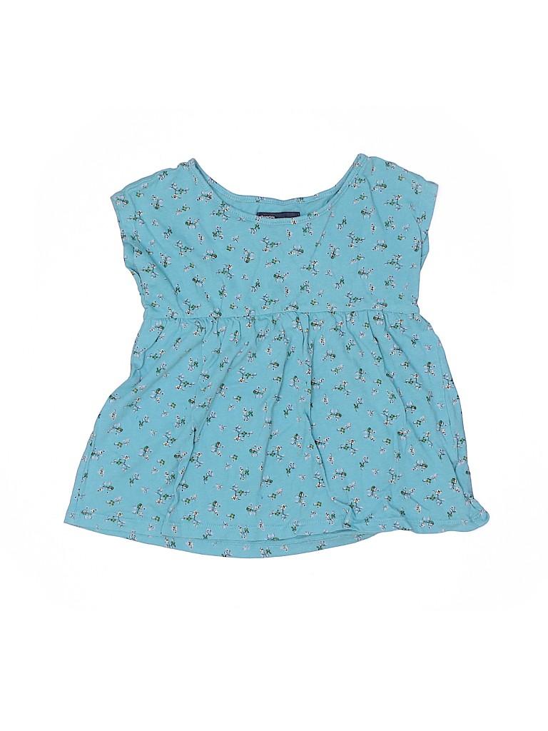 Gap Kids Girls Short Sleeve Blouse Size 6 - 7