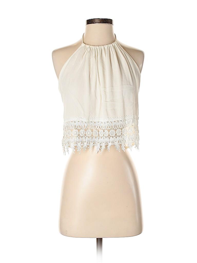 Solemio Women Sleeveless Blouse Size S