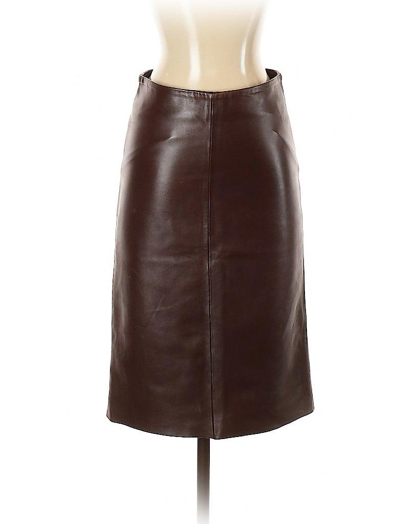 Joseph Women Leather Skirt Size S