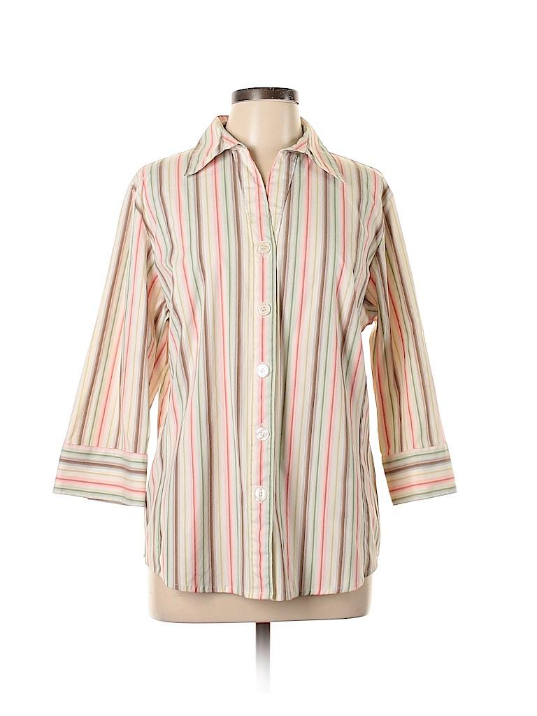 DressBarn Women 3/4 Sleeve Button-Down Shirt Size 14 - 16