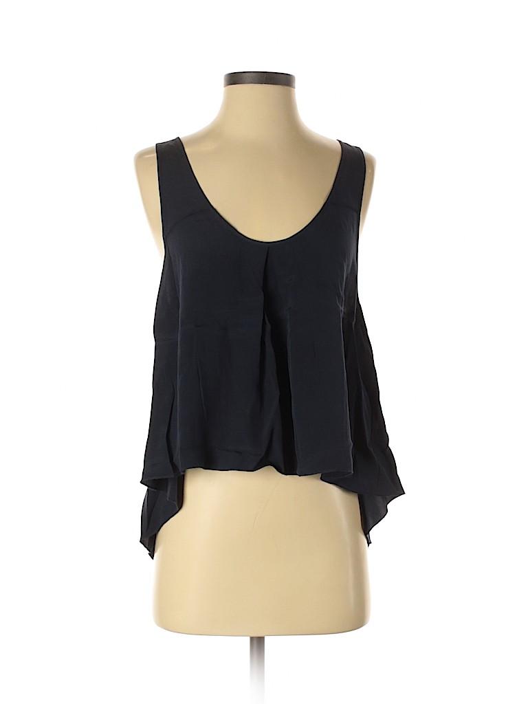 Ever Women Sleeveless Silk Top Size S