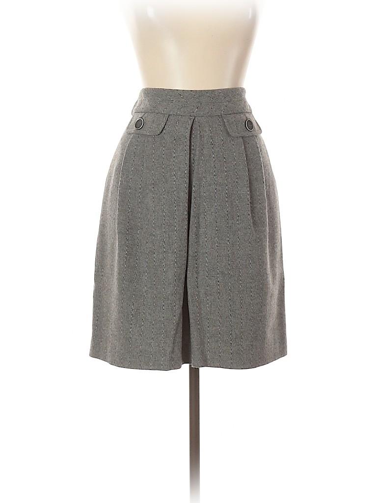 Trina Turk Women Wool Skirt Size 12