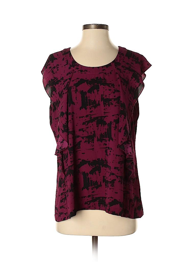 Carmakoma Women Short Sleeve Blouse Size 12 Plus (XS) (Plus)
