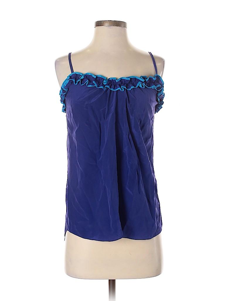 Rebecca Taylor Women Sleeveless Blouse Size 2