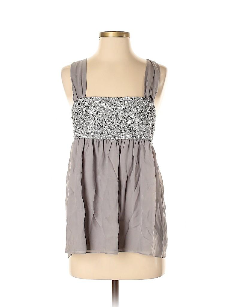 Alice + olivia Women Sleeveless Silk Top Size M