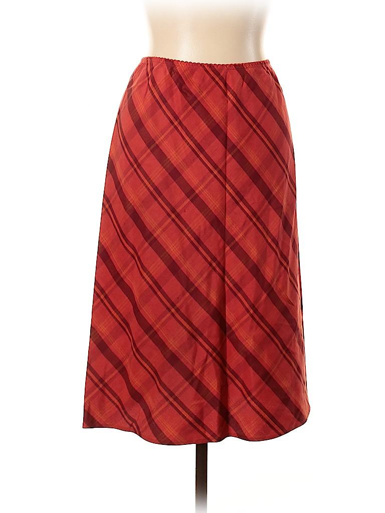 Brooks Brothers 346 Women Silk Skirt Size 10