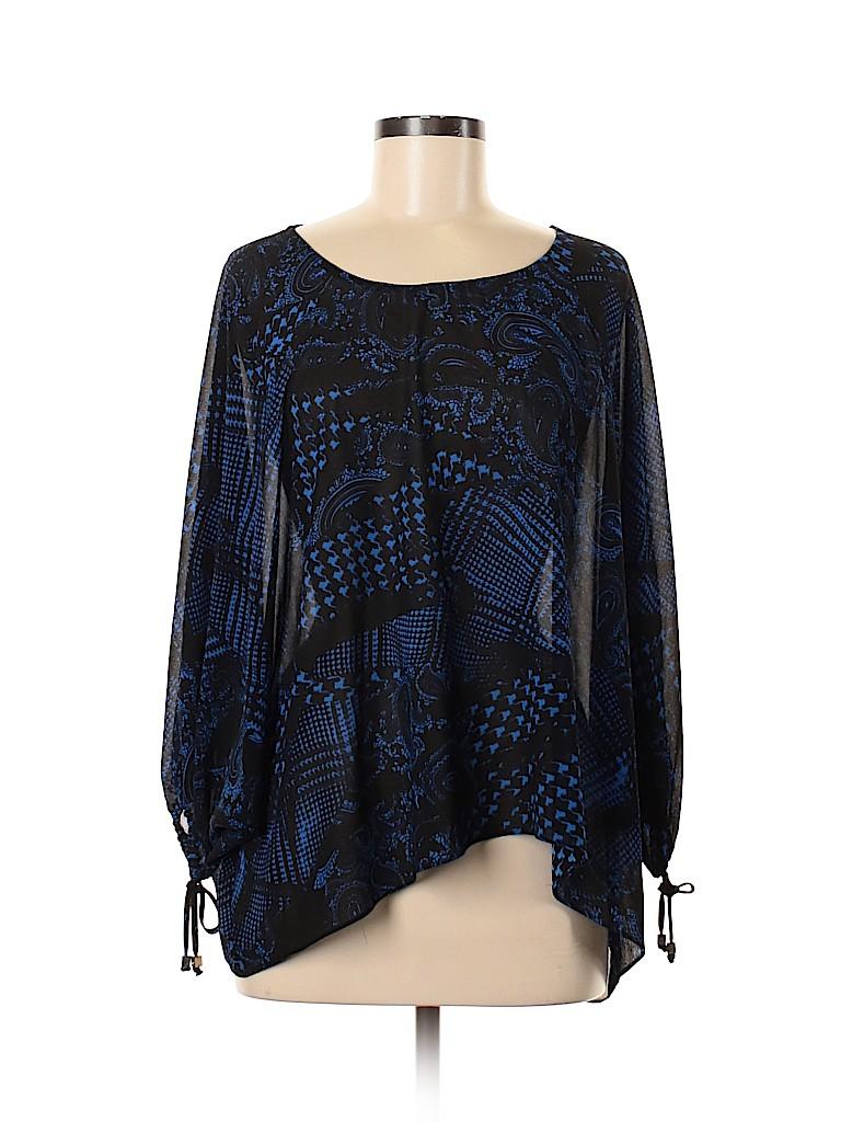 MICHAEL Michael Kors Women Short Sleeve Blouse Size M