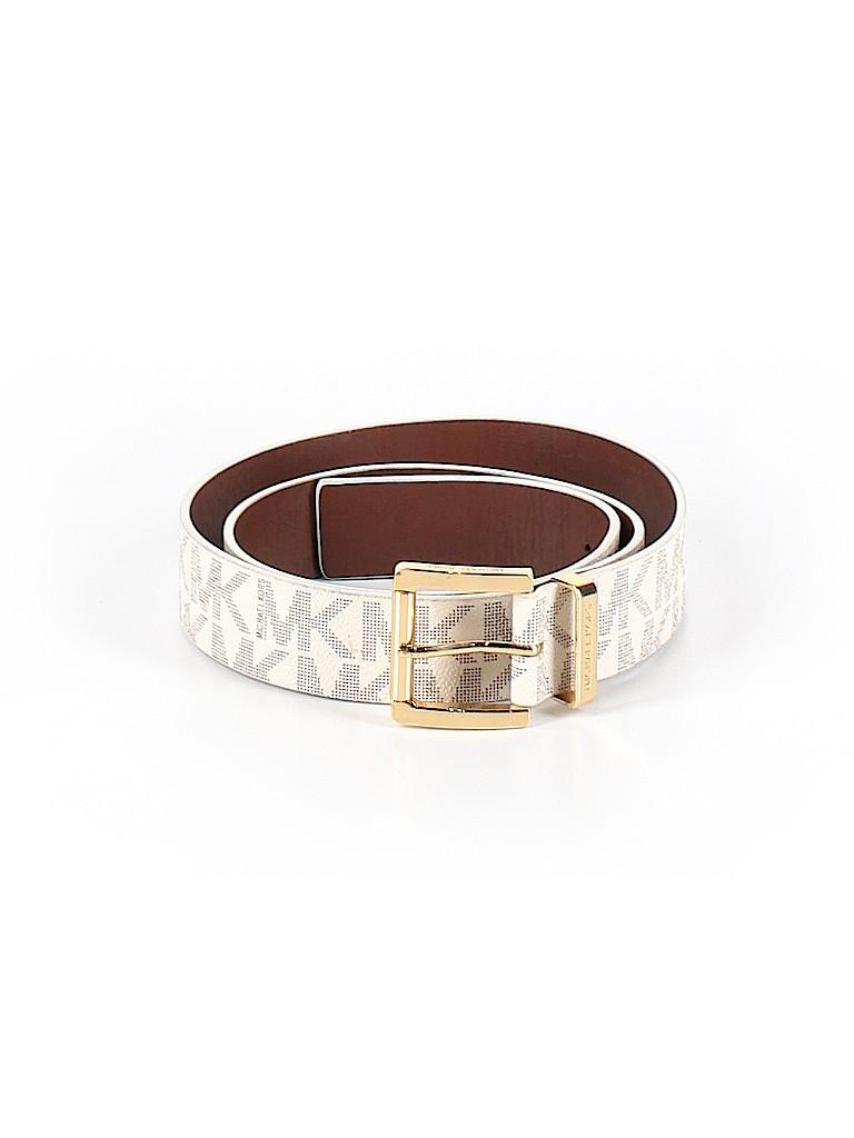 MICHAEL Michael Kors Women Leather Belt Size XL