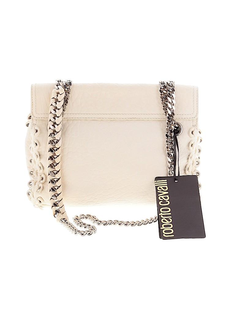Roberto Cavalli Women Leather Crossbody Bag One Size