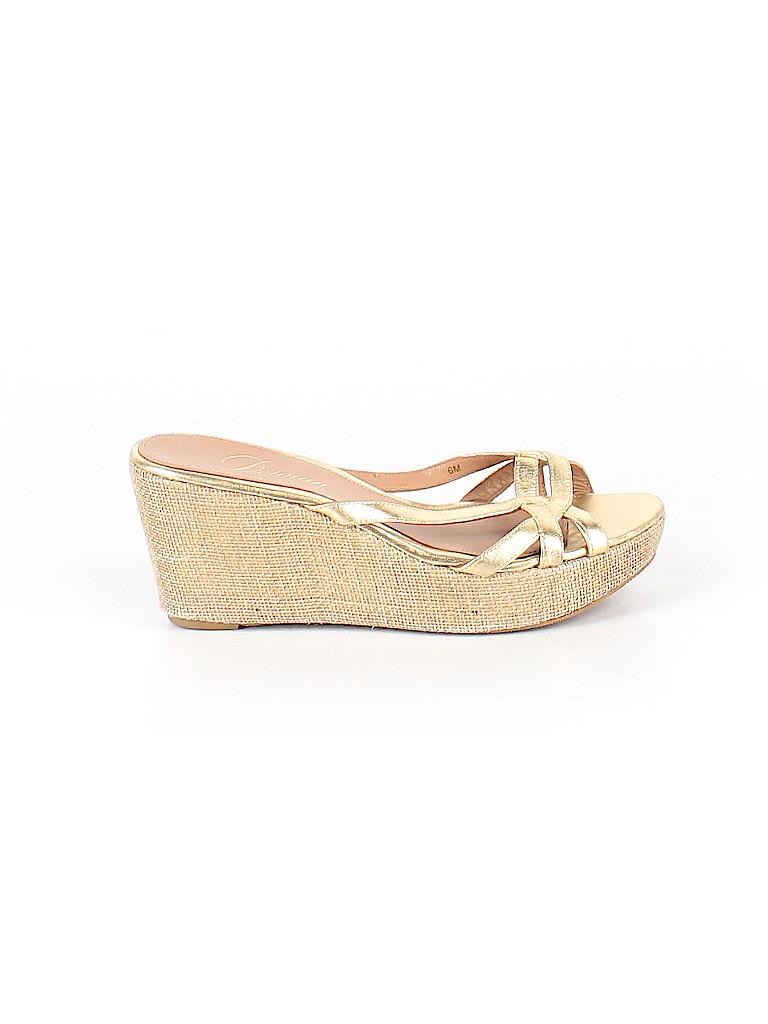 Delman Shoes Women Wedges Size 6