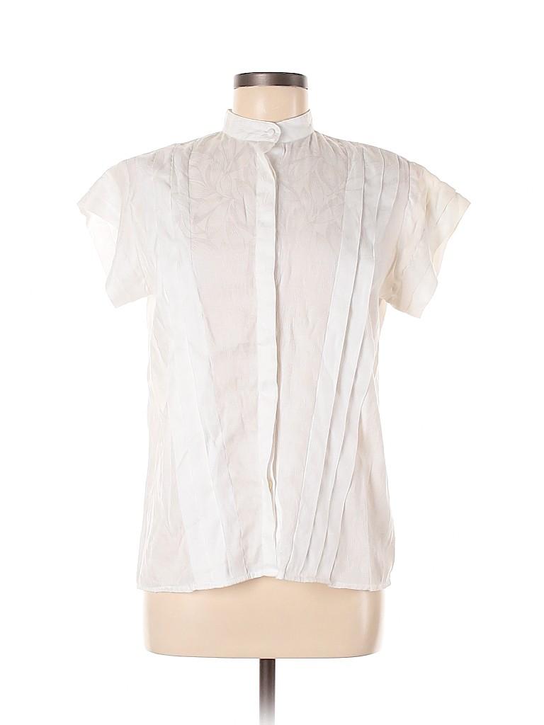 Lloyd Williams Women Short Sleeve Blouse Size 10