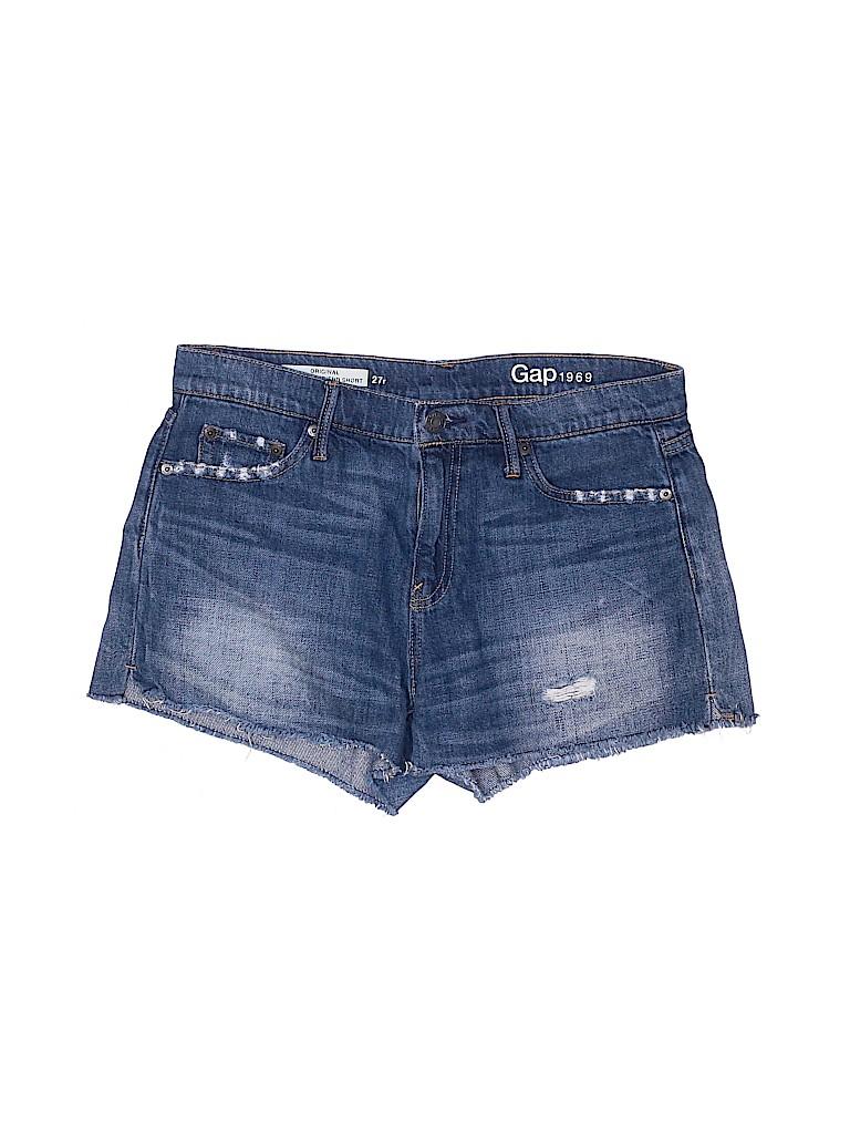 Gap Women Denim Shorts 27 Waist