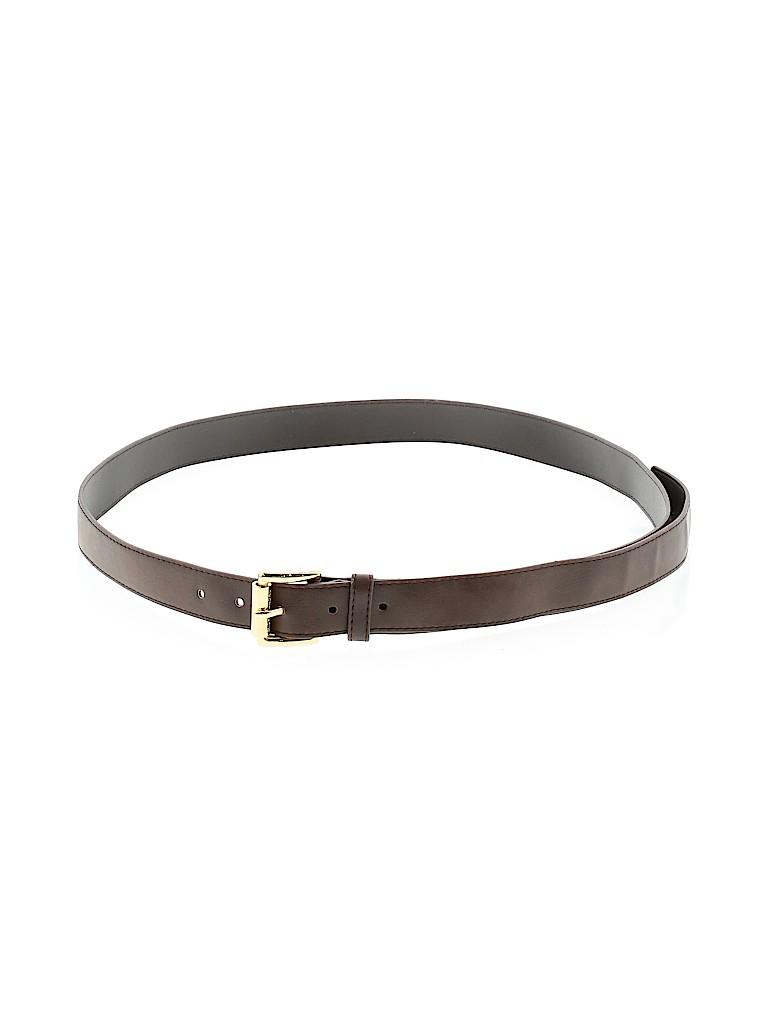 Michael Kors Women Leather Belt Size 1X (Plus)