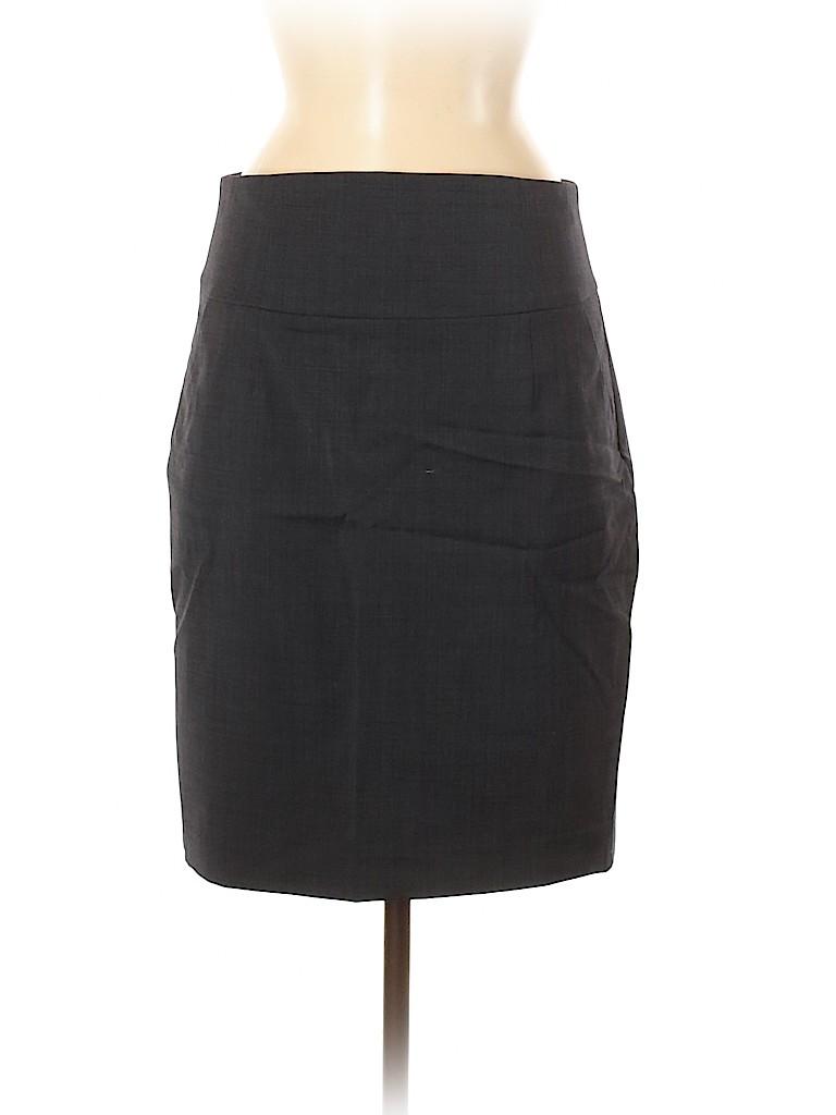 Banana Republic Women Wool Skirt Size 10