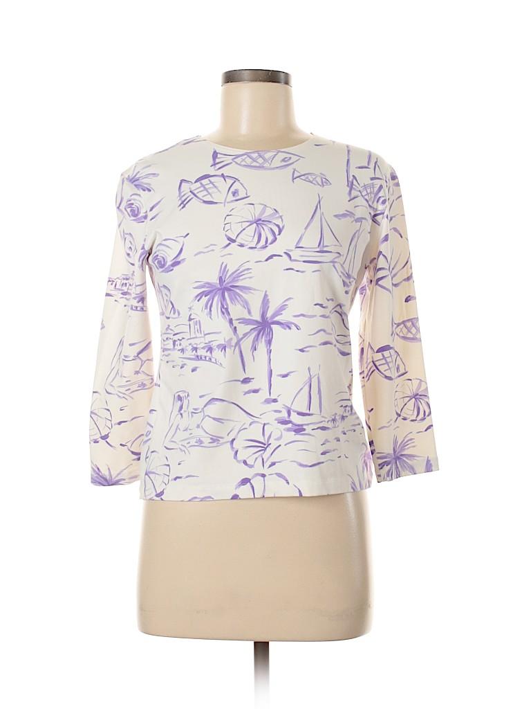 Leggiadro Women Long Sleeve T-Shirt Size L
