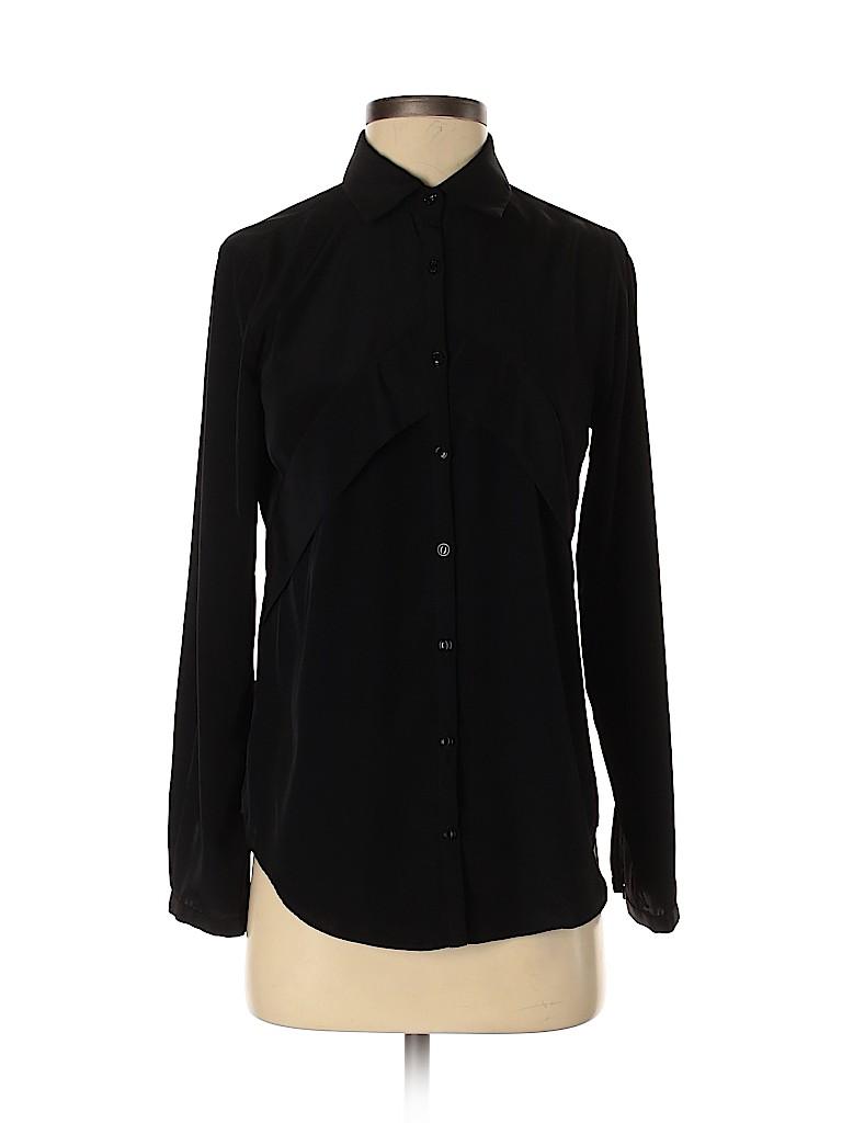 Yoana Baraschi Women Long Sleeve Blouse Size XS