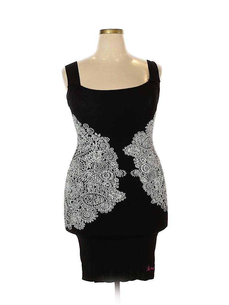 Desigual Women Cocktail Dress Size XL