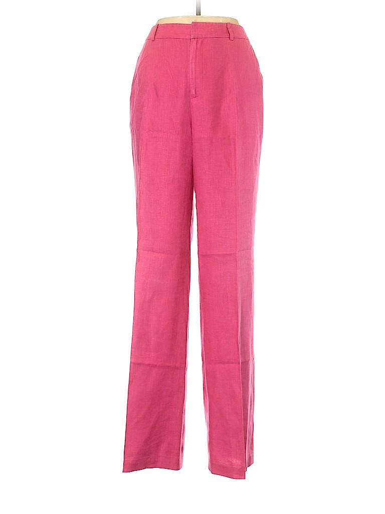 Lauren by Ralph Lauren Women Linen Pants Size 10