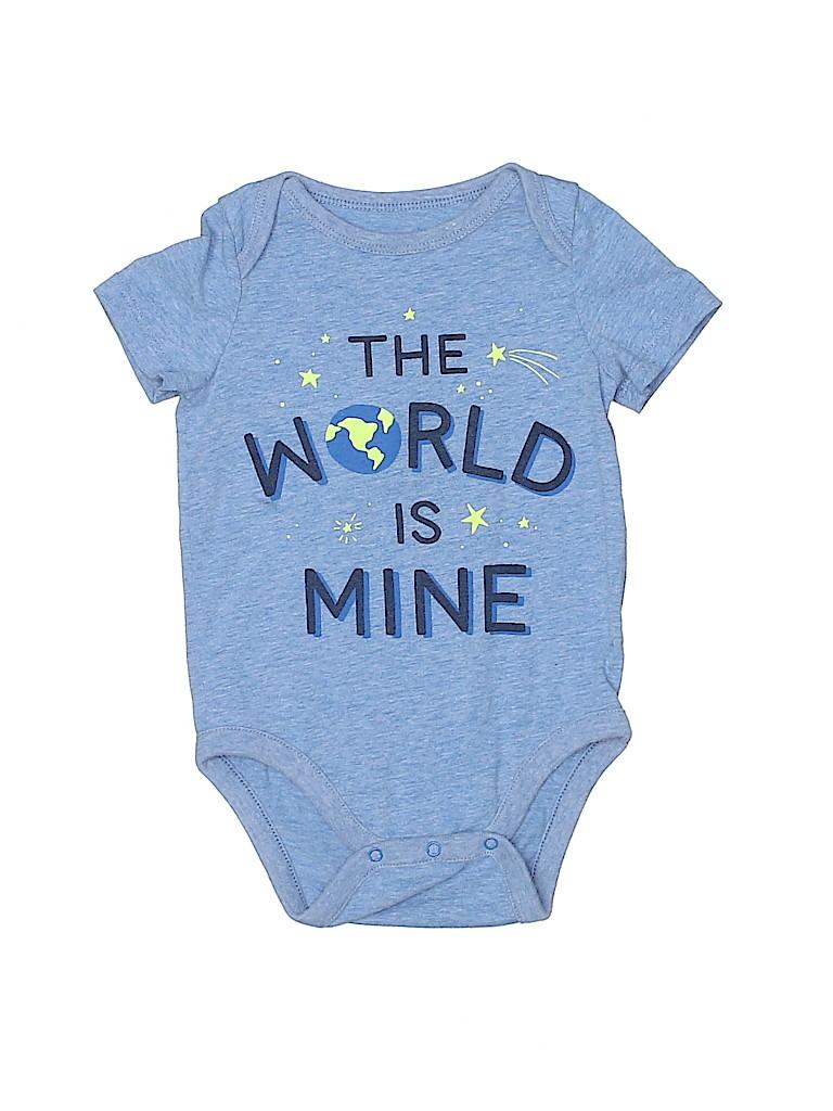 Baby Gap Girls Long Sleeve Onesie Size 12-18 mo