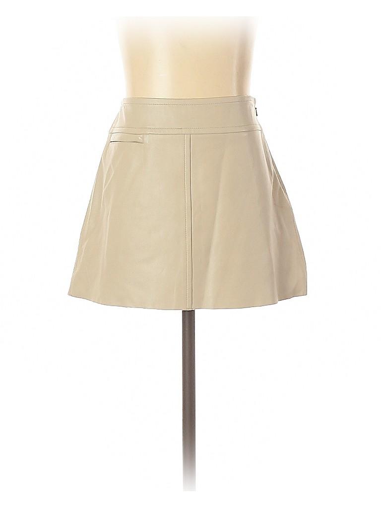 BCBGMAXAZRIA Women Leather Skirt Size 2